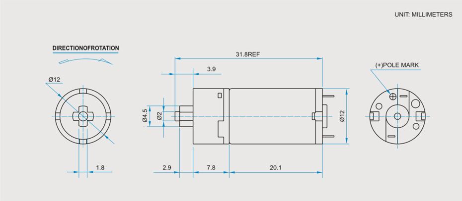 SC-RF1220GA减速马达产品介绍