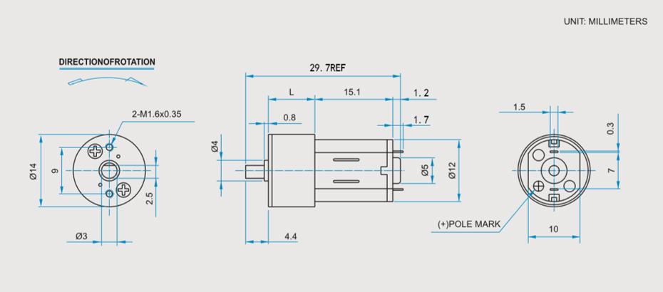 SCFF-N20AGR减速马达产品介绍