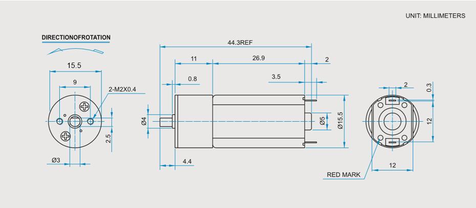 SC-050BGR减速马达产品介绍
