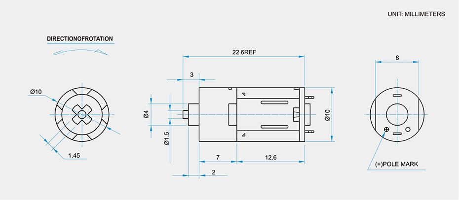 SC-M1012GA减速马达产品介绍