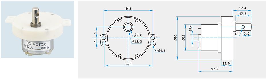 SC-JS30/40/50减速马达产品介绍