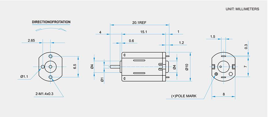 SCFF-M20贵金属电刷马达产品介绍