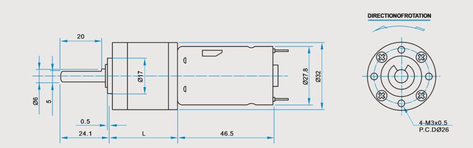 SC-X32R-395减速马达产品介绍