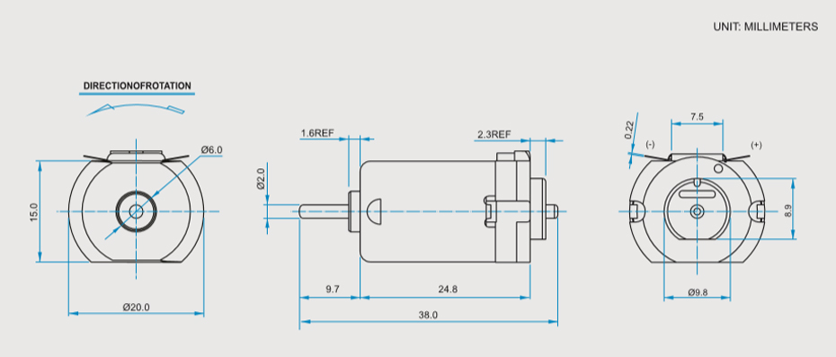 SCFF-130贵金属电刷马达产品介绍